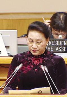 Chủ tịch Quốc hội kết thúc chuyến tham dự IPU-137 và thăm Kazakhstan