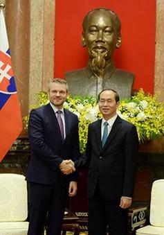 Chủ tịch nước Trần Đại Quang tiếp Phó Thủ tướng Slovakia