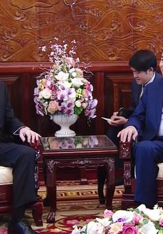 Chủ tịch nước Trần Đại Quang tiếp Đại sứ Uruguay chào từ biệt