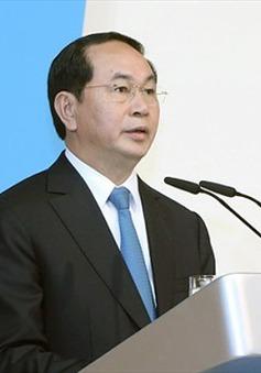 Chủ tịch nước Trần Đại Quang: Quan hệ Việt Nam - Lào là tài sản vô giá