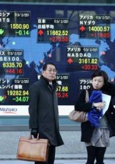 Chứng khoán châu Á phản ứng trước số liệu kinh tế từ Trung Quốc
