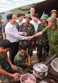 Cần tiếp tục giúp người dân vùng lũ ổn định cuộc sống