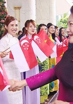 Chủ tịch Quốc hội thăm chính thức Singapore