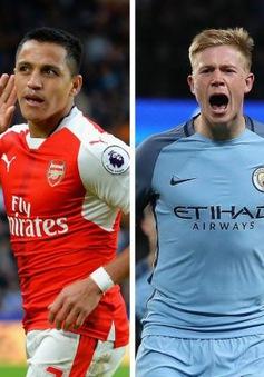 Bán kết FA Cup, Arsenal vs Man City, 21h00 ngày 23/4: Con số thống kê và đội hình dự kiến