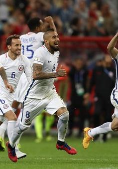 Cúp liên đoàn các châu lục 2017: ĐT Chile vào chung kết sau loạt luân lưu