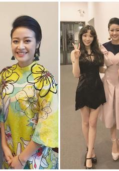 MC Phí Linh khiến fan Kpop ghen tị vì tặng quà cho Leeteuk, chụp ảnh cùng SNSD