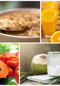 Chế độ ăn uống cho người sốt xuất huyết