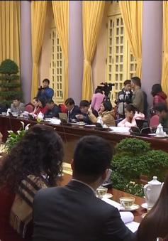 Văn phòng Chủ tịch nước họp báo công bố một số luật
