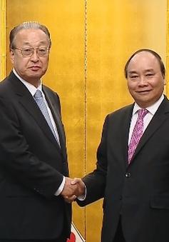 Thủ tướng tiếp lãnh đạo các tập đoàn lớn Nhật Bản