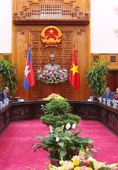 Thủ tướng tiếp Chủ tịch Quốc hội Campuchia