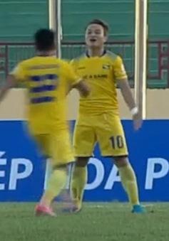 VIDEO: Tổng hợp diễn biến SLNA 2-0 CLB Sài Gòn