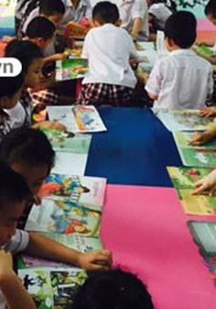 """Mô hình thư viện """"xanh"""" - Mở rộng không gian đọc cho trẻ"""