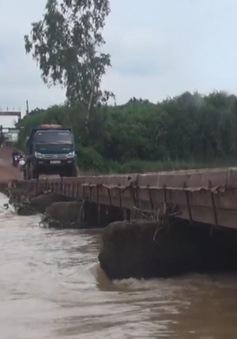 """""""Người hùng"""" cứu người bị nước cuốn trôi trên sông Đa Nhim"""