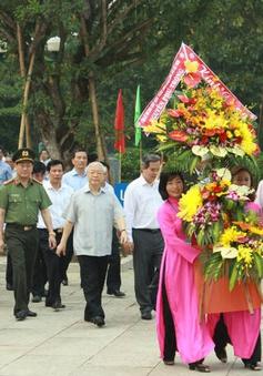 Tổng Bí thư thăm và làm việc tại Nghệ An
