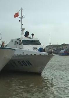 Biển động, tuyến vận tải Sa Kỳ - Lý Sơn (Quảng Ngãi) dừng hoạt động