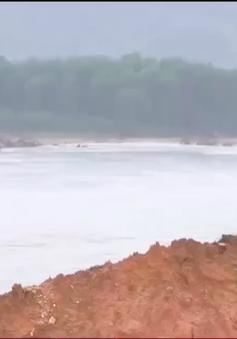 Kiểm tra khắc phục sạt lở tại Bắc Trà My, Quảng Nam