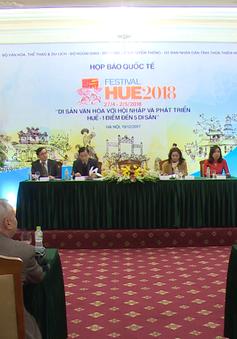 """Festival Huế 2018: Tôn vinh di sản, văn hóa Huế """"1 điểm đến 5 di sản"""""""