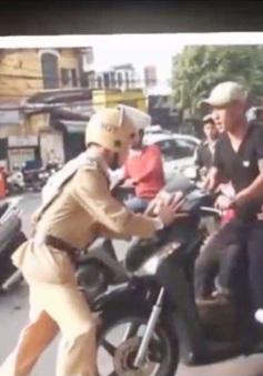 Gia tăng tình trạng chống đối Cảnh sát giao thông