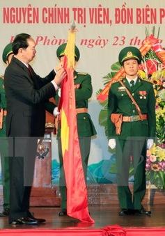 Bộ đội Biên phòng TP Hải Phòng đón nhận danh hiệu Anh hùng lực lượng vũ trang nhân dân