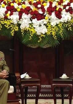 Chủ tịch nước tiếp Bộ trưởng Bộ các lực lượng vũ trang Cách mạng Cuba