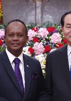 Chủ tịch nước tiếp Bộ trưởng Phủ Tổng thống Madagascar