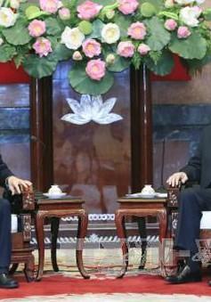 Chủ tịch nước tiếp Bộ trưởng Bộ Thương mại Trung Quốc