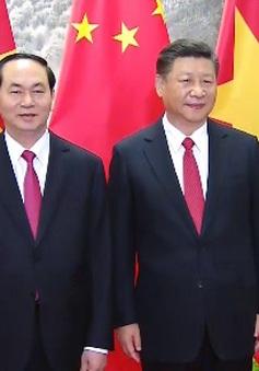 Chủ tịch nước thăm cấp Nhà nước Trung Quốc