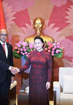 Chủ tịch Quốc hội tiếp Đại sứ Cuba