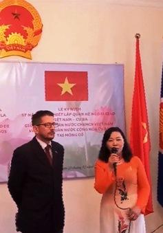 Kỷ niệm 57 năm thiết lập quan hệ ngoại giao Việt Nam - Cuba