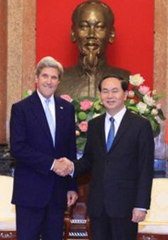 Chủ tịch nước tiếp cựu Ngoại trưởng Hoa Kỳ