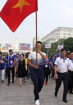 5000 người đi bộ đồng hành hưởng ứng SEA Games 29