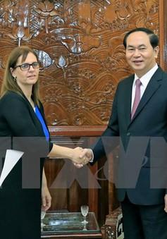 Chủ tịch nước tiếp Đại sứ Israel
