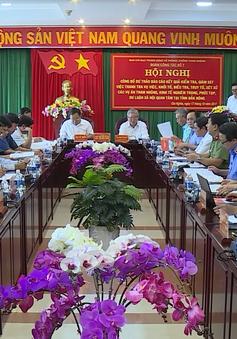 Công bố kết quả kiểm tra, xét xử các vụ tham nhũng ở Đắk Nông
