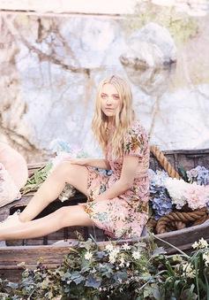 Dakota Fanning đẹp mơ mộng trong chiến dịch của Jimmy Choo Spring 2017
