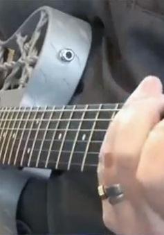 Chiếc guitar nhôm đầu tiên ra đời bằng công nghệ in 3D