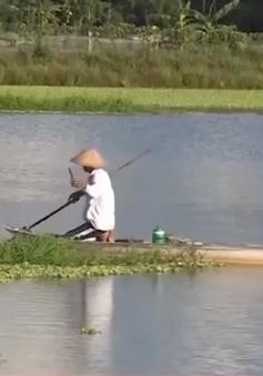 Người dân vẫn bắt cá bằng chích điện