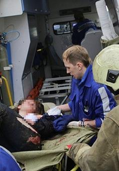 Mẹ làm lá chắn sống cho con trong vụ tấn công tàu điện ngầm ở Nga