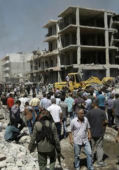 Đánh bom liều chết ở Syria