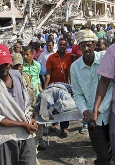Lãnh đạo các nước trên thế giới lên án vụ đám bom đẫm máu ở Somalia