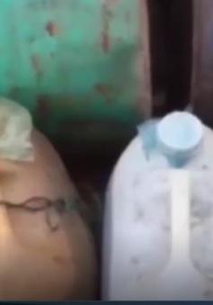 Quảng Ngãi: Phát hiện kho dầu, nhớt lậu trong nhà dân