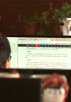 Cánh mày râu tích cực tham gia đấu giá trực tuyến ở Trung Quốc