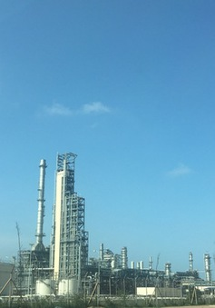 Nhà máy lọc hóa dầu lớn nhất cả nước tiếp nhận 270.000 tấn dầu thô đầu tiên