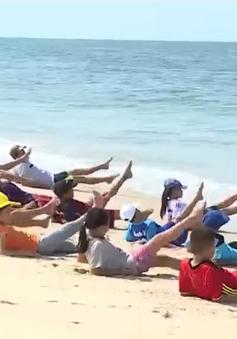 Thừa Thiên - Huế: Đẩy mạnh chương trình dạy bơi cho trẻ