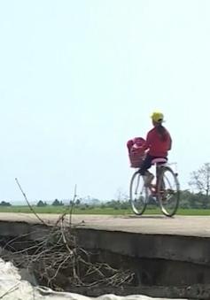 Sạt lở đê bao vùng trũng Quảng Trị