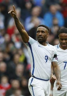 Defoe cạnh tranh suất tiền đạo ĐT Anh dự World Cup 2018