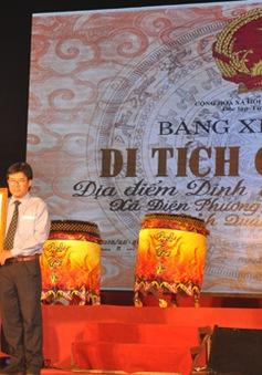 Quảng Nam: Dinh trấn Thanh Chiêm được công nhận Di tích Quốc gia