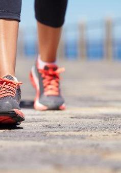 Nên đi bộ 10.000 bước mỗi ngày để tăng cường sức khỏe