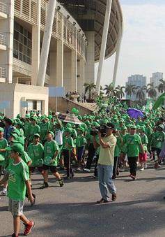 20.000 người đi bộ vì một Việt Nam năng động hơn