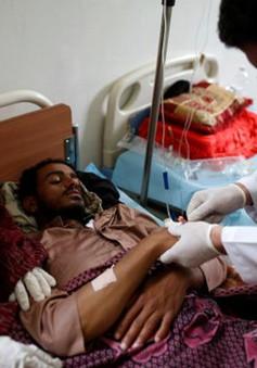 Yemen đối mặt với cuộc khủng hoảng bệnh tả