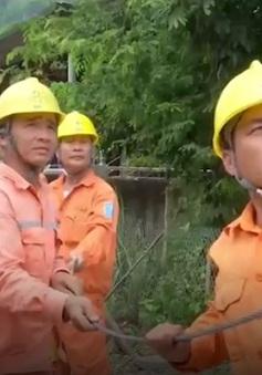 Khẩn trương khắc phục lưới điện tại vùng lũ Sơn La